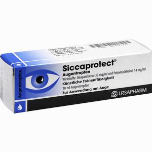 Abbildung von Siccaprotect Augentropfen  10 ml