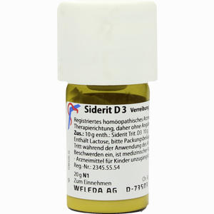 Abbildung von Siderit D3 Trituration 20 g