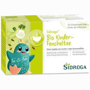 Abbildung von Sidroga Bio Kinder- Fencheltee Filterbeutel 20 Stück