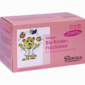 Abbildung von Sidroga Bio Kinder- Früchtetee Filterbeutel 20 Stück