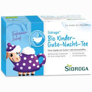 Abbildung von Sidroga Bio Kinder- Gute- Nacht- Tee Filterbeutel 20 Stück