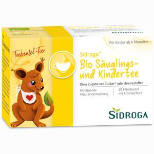 Abbildung von Sidroga Bio Säuglings- und Kindertee Filterbeutel 20 Stück