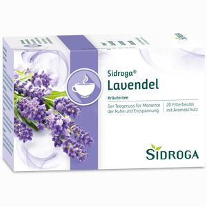 Abbildung von Sidroga Lavendel Filterbeutel 20 Stück