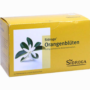 Abbildung von Sidroga Orangenblütentee Filterbeutel 20 Stück
