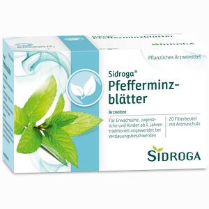 Abbildung von Sidroga Pfefferminzblätter Filterbeutel 20 Stück