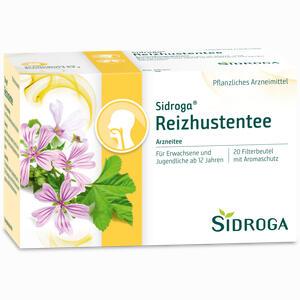Abbildung von Sidroga Reizhustentee Filterbeutel 20 Stück