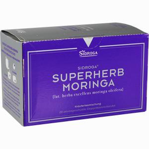 Abbildung von Sidroga Superherb Moringa Tee 20 Stück