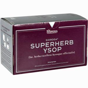 Abbildung von Sidroga Superherb Ysop Tee 20 Stück
