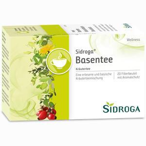 Abbildung von Sidroga Wellness Basentee Filterbeutel 20 Stück