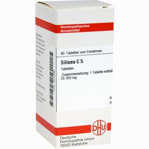 Abbildung von Silicea C5 Tabletten 80 Stück