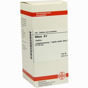 Abbildung von Silicea D2 Tabletten 200 Stück