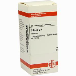 Abbildung von Silicea D4 Tabletten 80 Stück