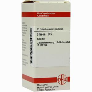 Abbildung von Silicea D5 Tabletten 80 Stück