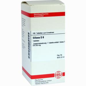 Abbildung von Silicea D8 Tabletten 200 Stück