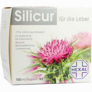 Abbildung von Silicur für die Leber Kapseln 100 Stück