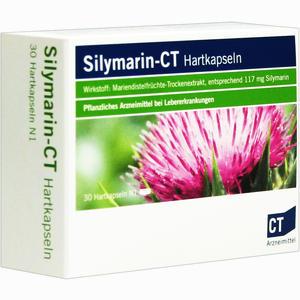 Abbildung von Silymarin- Ct Hartkapseln  30 Stück