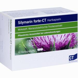 Abbildung von Silymarin Forte - Ct Hartkapseln  30 Stück