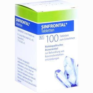 Abbildung von Sinfrontal Tabletten 100 Stück