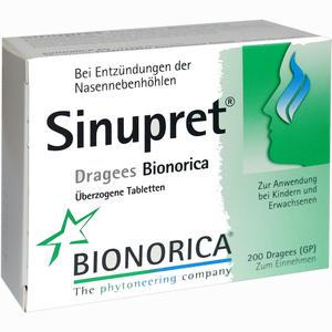 Abbildung von Sinupret Dragees Bionorica  200 Stück