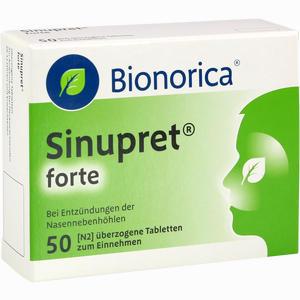 Abbildung von Sinupret Forte Dragees Bionorica  50 Stück