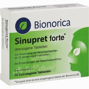 Abbildung von Sinupret Forte überzogene Tabletten  Kohlpharma 50 Stück