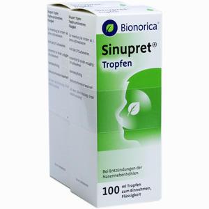 Abbildung von Sinupret Tropfen Bionorica  2 x 100 ml