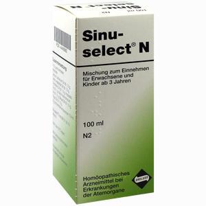 Abbildung von Sinuselect N Tropfen 100 ml