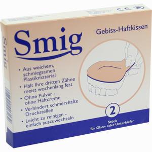 Abbildung von Smig Gebiss- Haftkissen 2 Stück