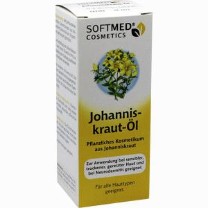 Abbildung von Softmed Cosmetics Johanniskrautöl Öl 50 ml