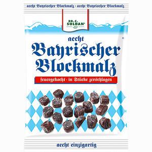 Abbildung von Soldan Aecht Bayrischer Blockmalz Zerschlagen Bonbon 100 g