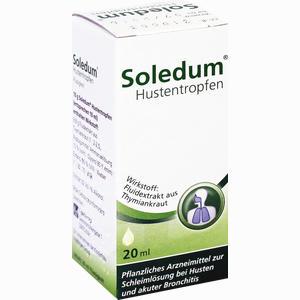 Abbildung von Soledum Hustentropfen  20 ml