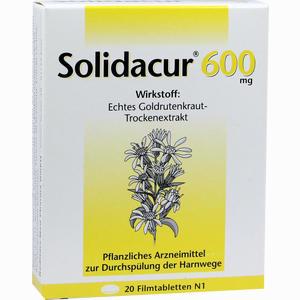 Abbildung von Solidacur 600mg Filmtabletten 20 Stück