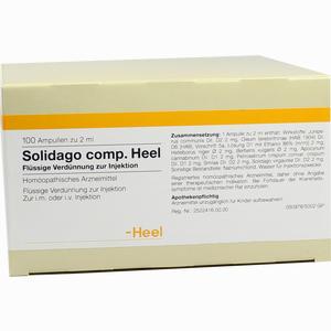 Abbildung von Solidago Comp. Heel Ampullen 100 Stück