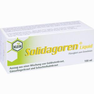 Abbildung von Solidagoren Liquid Tropfen 100 ml