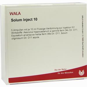 Abbildung von Solum Inject 10 Ampullen 5 x 10 ml