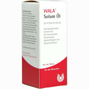 Abbildung von Solum Öl  50 ml