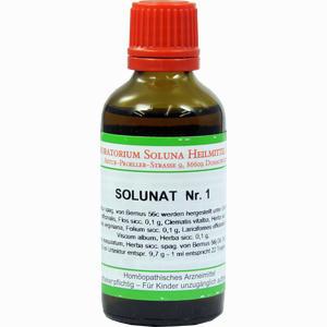 Abbildung von Solunat Nr. 1 Tropfen 50 ml