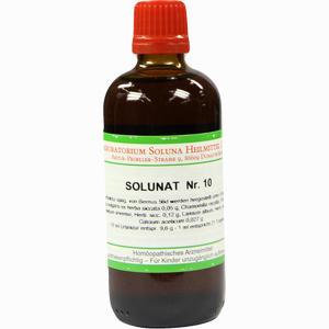 Abbildung von Solunat Nr. 10 Tropfen 100 ml