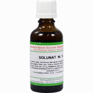 Abbildung von Solunat Nr. 14 Tropfen 50 ml