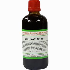 Abbildung von Solunat Nr. 16 Tropfen 100 ml