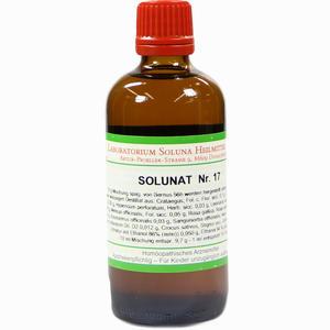 Abbildung von Solunat Nr. 17 Tropfen 100 ml