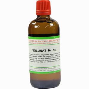 Abbildung von Solunat Nr. 18 Tropfen 100 ml