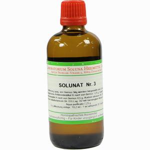 Abbildung von Solunat Nr. 3 Tropfen 100 ml