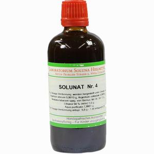 Abbildung von Solunat Nr. 4 Tropfen 100 ml