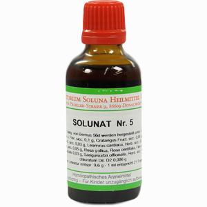 Abbildung von Solunat Nr. 5 Tropfen 50 ml