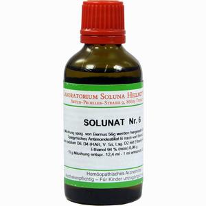 Abbildung von Solunat Nr. 6 Tropfen 50 ml