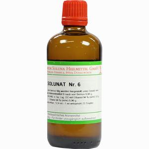 Abbildung von Solunat Nr. 6 Tropfen 100 ml