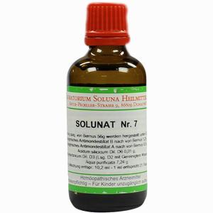 Abbildung von Solunat Nr. 7 Tropfen 50 ml
