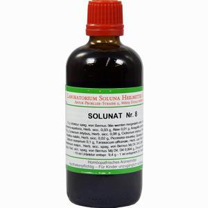 Abbildung von Solunat Nr. 8 Tropfen 100 ml