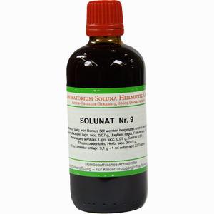 Abbildung von Solunat Nr. 9 Tropfen 100 ml